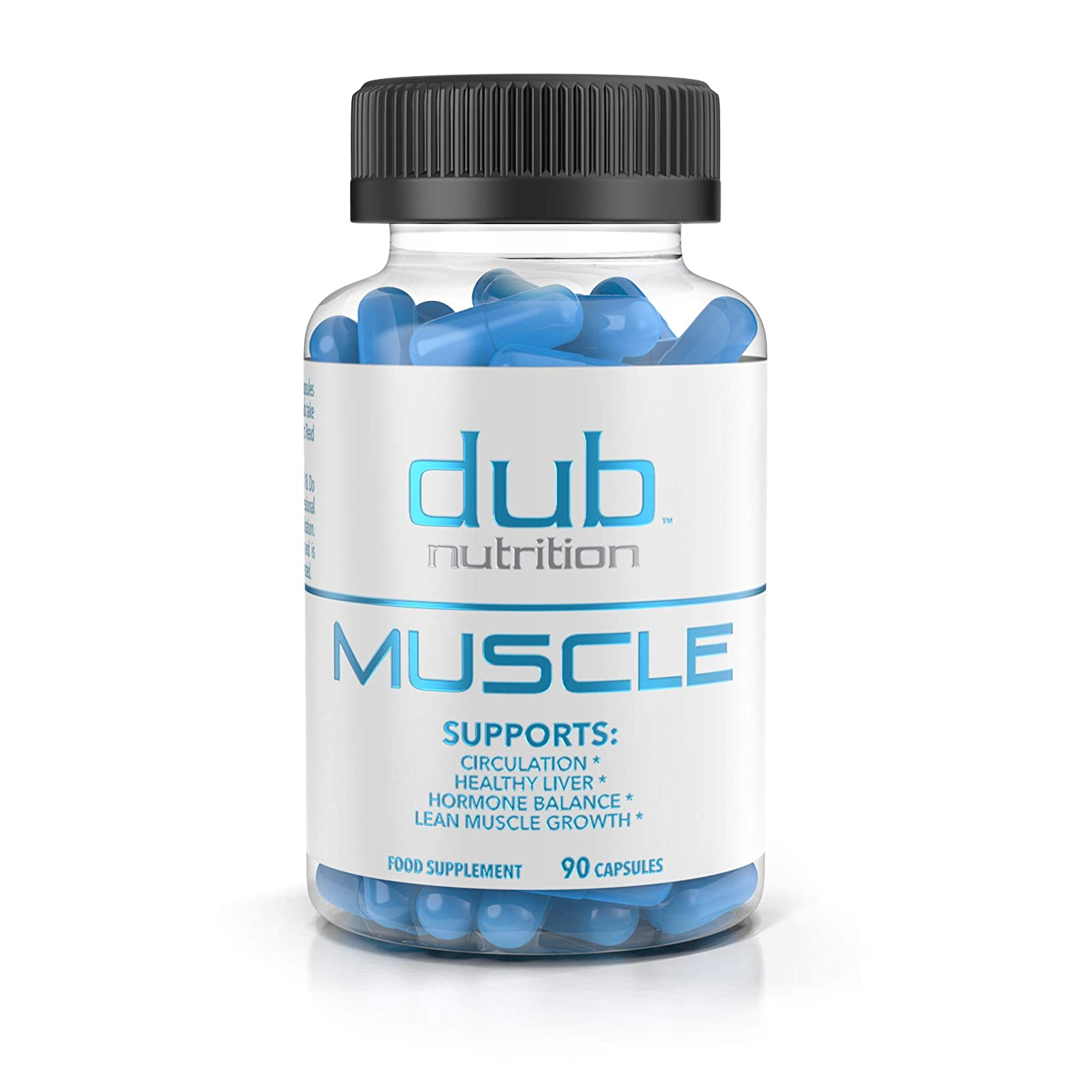 Muscle Recovery Workout Supplements by dub Nutrition Testosterone Booster Liver Cleanse Detox Muscle Builder with BCAA, Milk Thistle, Saw Palmetto, Tribulus, and Beta Alanine 90 Capsules.