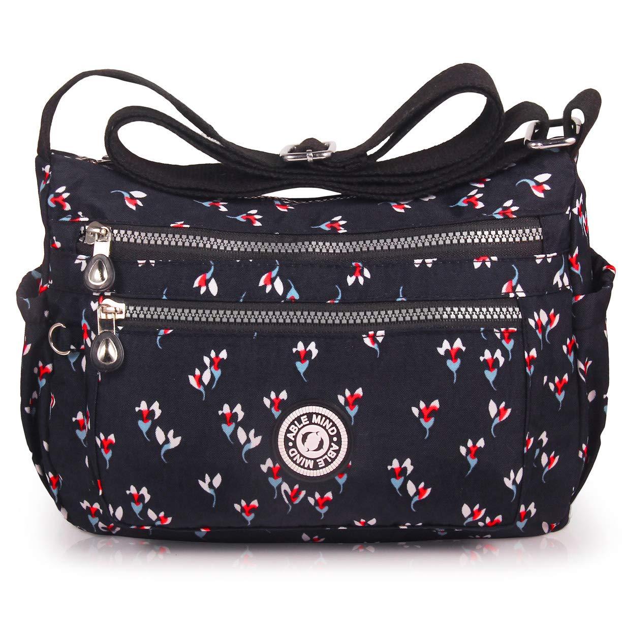 ABLE Anti Splash Water Shoulder Bag Casual Messenger Crossbody Bags