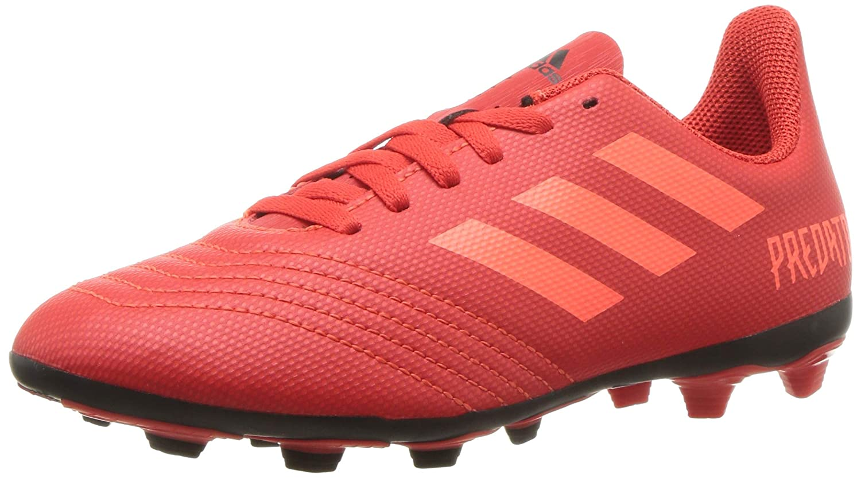ae5c8156b8 Amazon.com | adidas Kids' Predator 19.4 Firm Ground Soccer Shoe | Soccer
