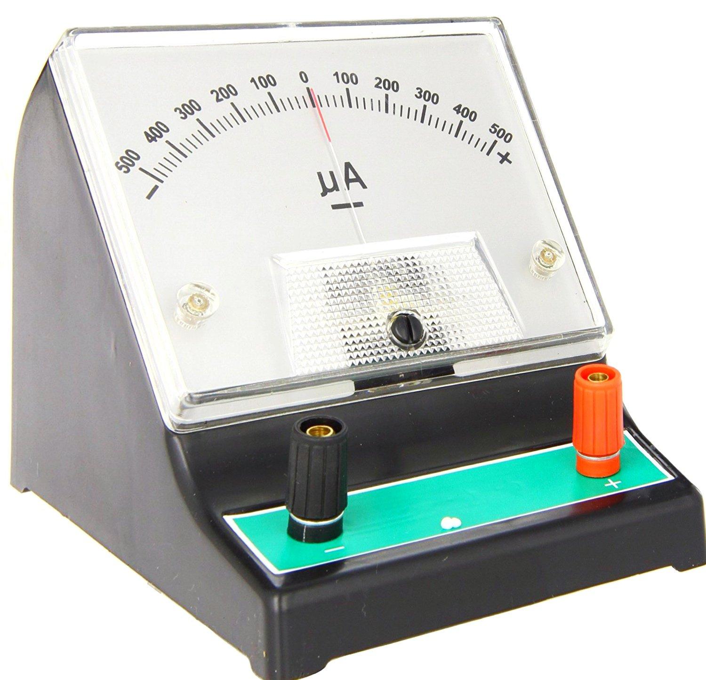 Galvanometer -500 - 0 - 500 µA