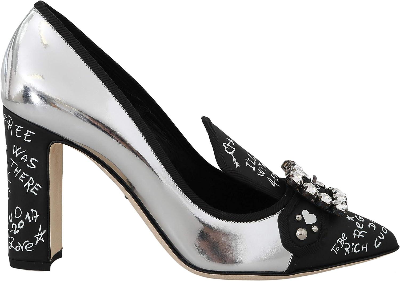 E6842 Decollete Donna Silver DOLCE&GABBANA Scarpe Shoe Woman