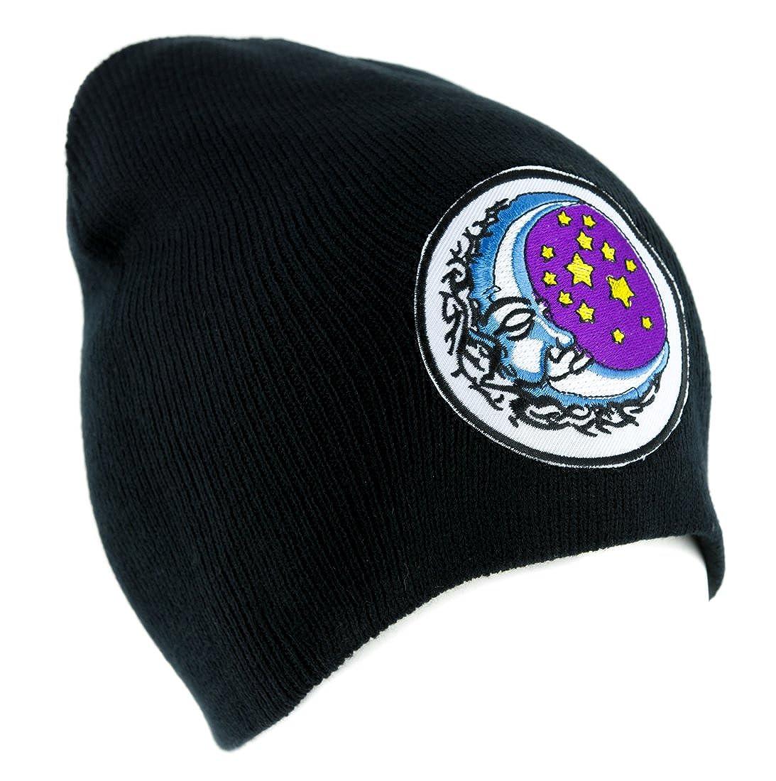 Amazon.com: Dormir Luna y Estrellas Beanie Knit Cap ropa ...