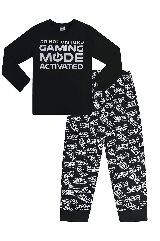 The Pyjama Factory Pyjama long tiss/é avec inscription /«Do Not Disturb Gaing Mode Activated/»