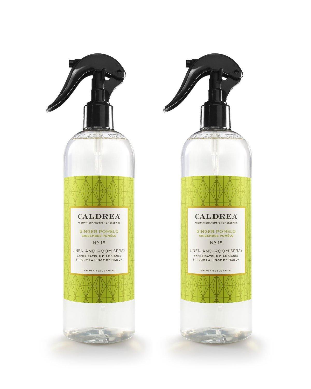 Amazon.com: Caldrea Linen and Room Spray Ginger Pomelo -- 16 fl oz ...