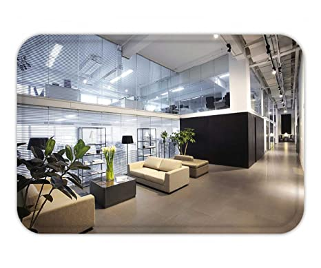 Amazon.com : Beshowere Doormat Modern Office Interiors : Garden U0026 Outdoor