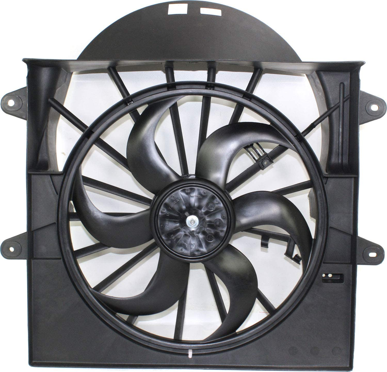 Cooling Fan Assembly Compatible with JEEP GRAND CHEROKEE 2005-2009 3.7L/4.7L Engine
