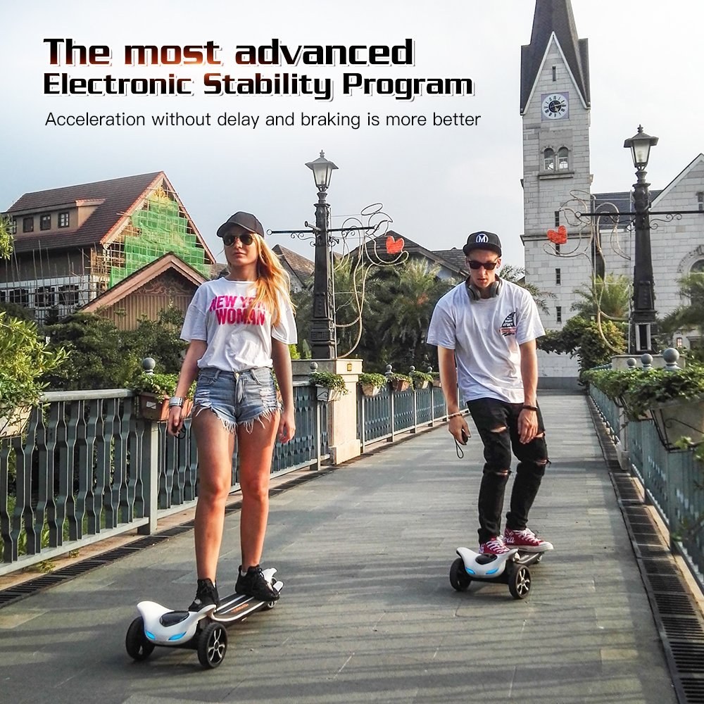 Electric Skateboard with Bluetooth -- TOMOLOO Dragon knight H3  -- Longboard with Remote Controller, 17.5 MPH Top Speed, 12 Miles Max Range by TOMOLOO (Image #7)