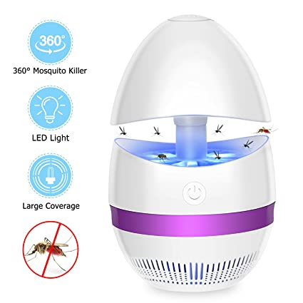 Computer Peripherals Usb Gadgets 360 Degree Usb Electric Mosquito Killer Led Lamp Bug Zapper Insect Pest Control Killing Light Home Living Room Device Traveling