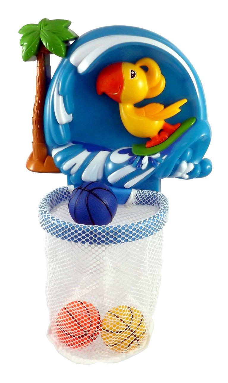 Amazon.com: Shoot & Splash Basketball Hoop Bathtub Bath Toy for ...