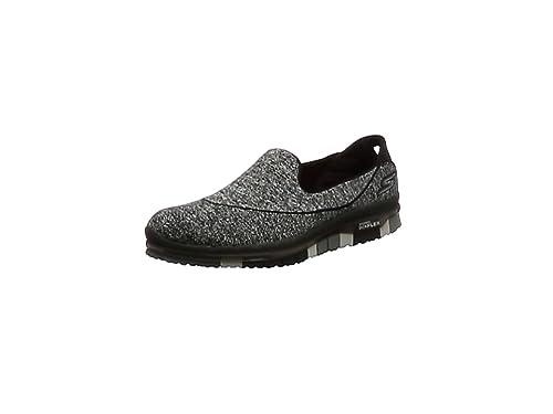 Skechers Go Flex - Zapatillas de deporte Mujer, Negro (Negro (BBK))