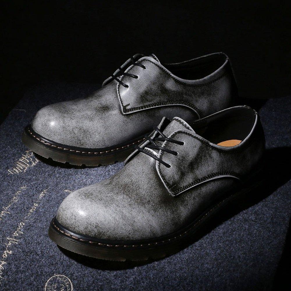 DuoShengZhTG , Herren grau Stiefel, Grau - grau Herren - Größe  38 EU 2f44df