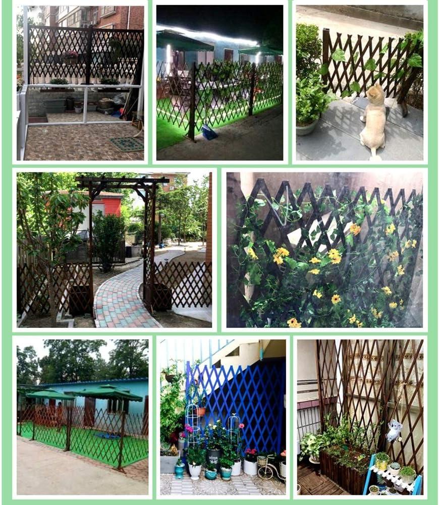 SUBBYE Valla De Madera Extensible Instantánea, Enrejado Estilo Autoportante La Expansión De Cerca del Jardín De La Pantalla, Ideal para Jardín Al Aire Libre Al Aire Libre De Interior De Reparto: Amazon.es: