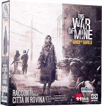 Asmodee- This War of Mine expansión Cuentos de la Ciudad de Rovina Juego de Mesa en Italiano Pendragon Games Studio, Color, 0497: Amazon.es: Juguetes y juegos