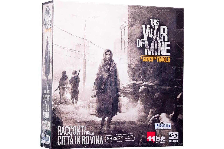 Asmodee Italia - This War of Mine expansión Cuentos de la Ciudad ...
