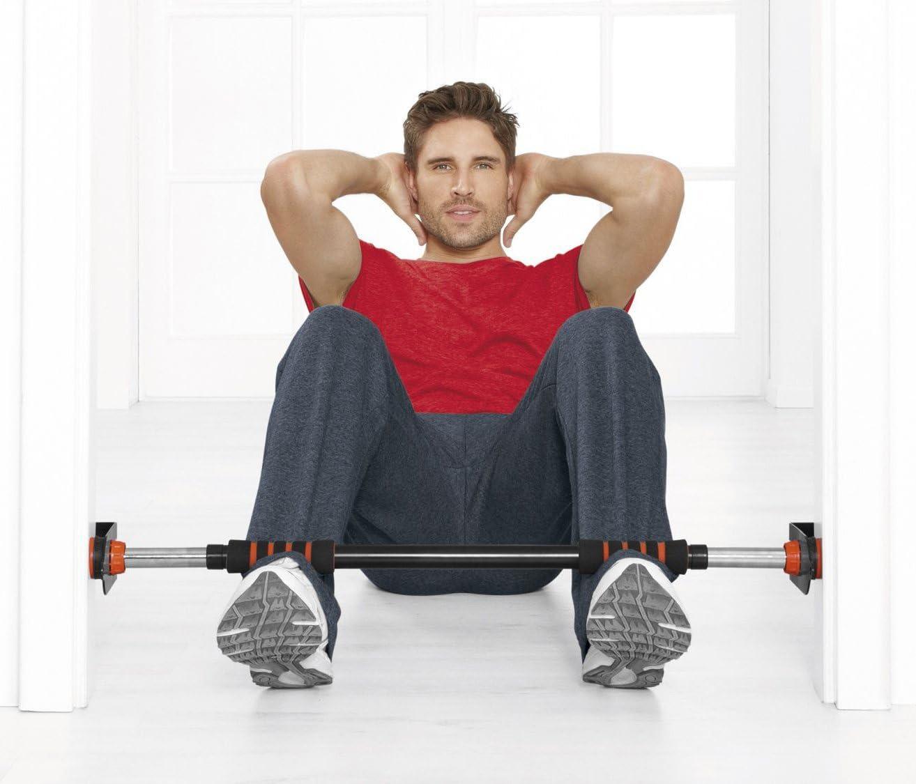 Crivit barra de dominadas para puerta fitness con cintas ...