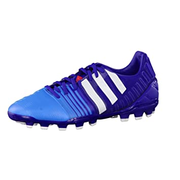 adidas Fussballschuhe Nitrocharge 20 AG 42 amazon purple f14/ftwr white/solar blue2 s14
