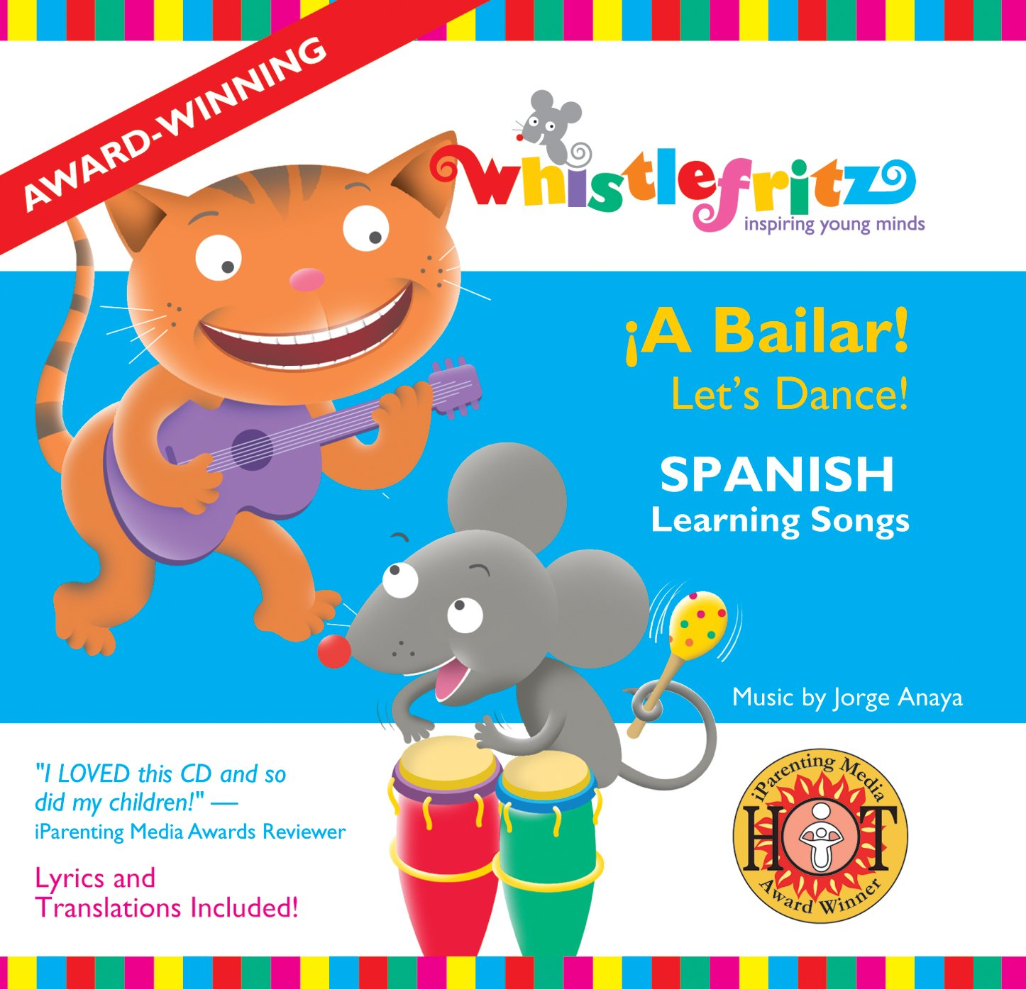 Spanish for Kids: A Bailar! by CD Baby (distributor)