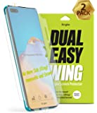 Ringke Dual Easy Wing (2 Pack) Screen Protector Designed for Huawei P40 Pro