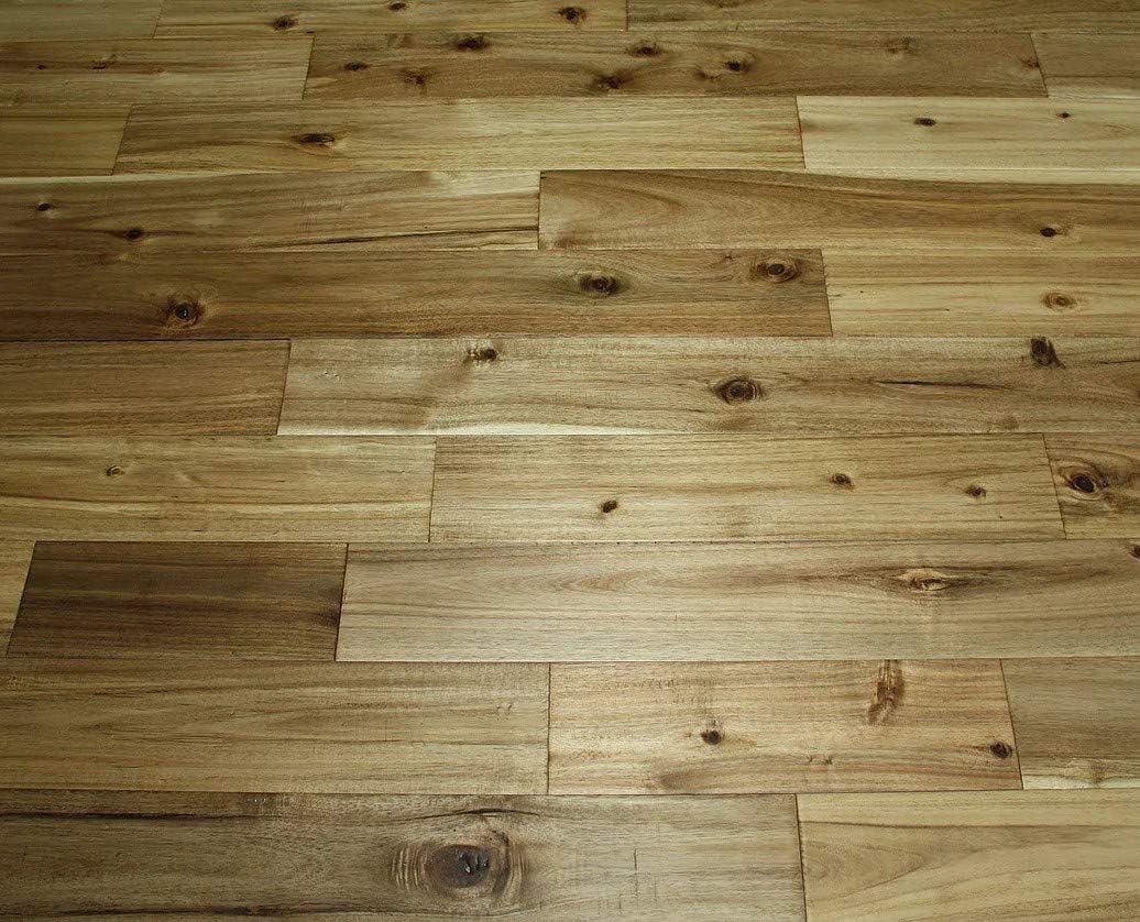 Elk Mountain Acacia Asian Walnut Natural 3 4 X 5 Distressed Solid