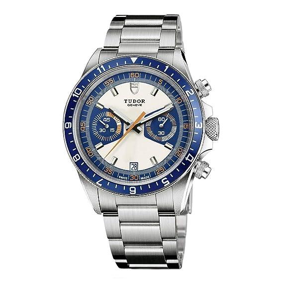 Tudor Reloj de Hombre automático 42mm Correa y Caja de Acero m70330b-0001: Amazon.es: Relojes