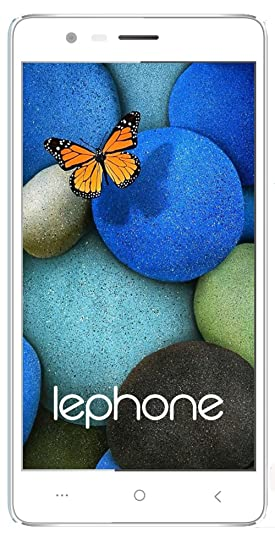 Lephone W7 Dual Sim(4G+4G) VoLTE 2 5D Curved Glass - White