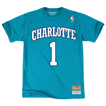 3bc9b559bd0 Muggsy Bogues Charlotte Hornets Mitchell   Ness NBA Men s   quot Player quot  ...