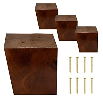 Amazon.com: ComfortStyle - Patas para muebles, sofá otomano ...