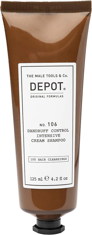 DEPOT 106 DANDRUFF CONTROL INTENSIVE CREAM SHAMPOO ANTIFORFORA 125 ML