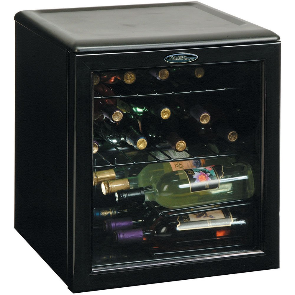 Com Danby Dwc172bl 1 8 Cu Ft 17 Bottle Counter Top Wine Cooler Black Appliances