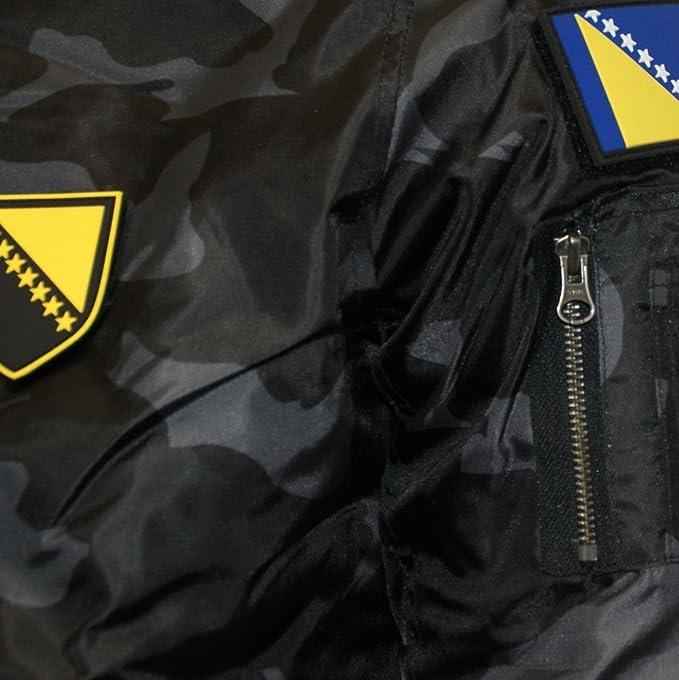 Zoonamo Bosnien Camo Bomber Jacket: : Bekleidung