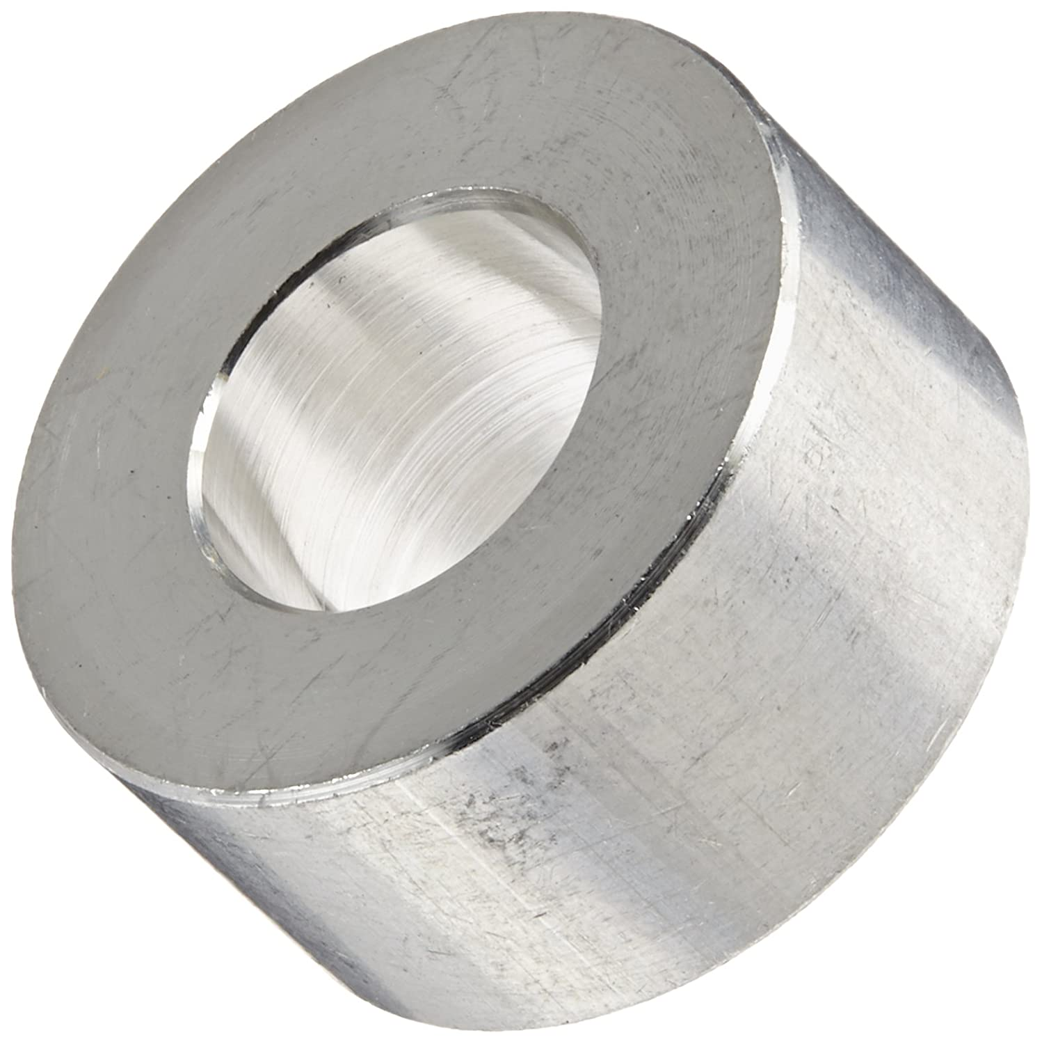 0.192 ID Round Spacer Aluminum Plain Finish Pack of 10 #10 Screw Size 3//8 OD 1//8 Length