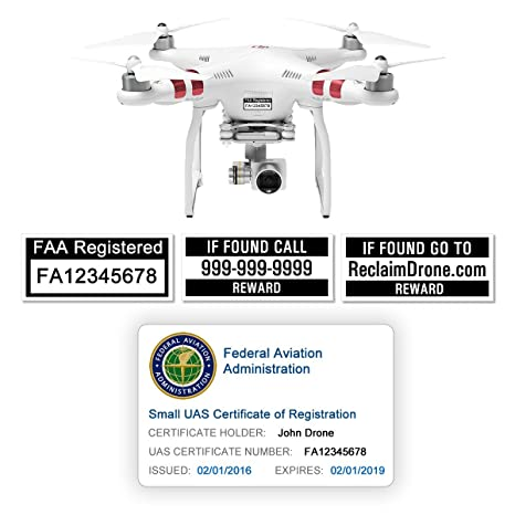 Review FAA Drone Labels (2