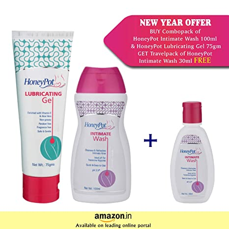 Best Lubricant For Menopause Dryness 2020.Buy Honeypot Intimate Wash 100ml And Honeypot Lubricating