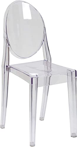 Flash Furniture SET of 4 Ghost Side Chair