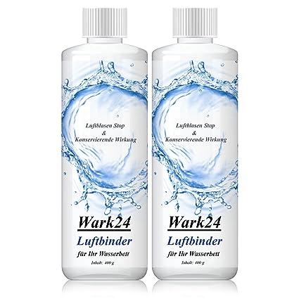 wark24 Aire Binder Bubble Stop 400 g – Stop de burbujas de aire para cama de