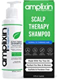 Amplixin Scalp Therapy Shampoo - Dry, Itchy Scalp Treatment With Tea Tree Oil For Men and Women - Anti Dandruff…
