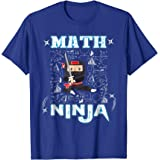 Amazon.com: Real Math Ninja - Cool Maths T-Shirt for Kids ...