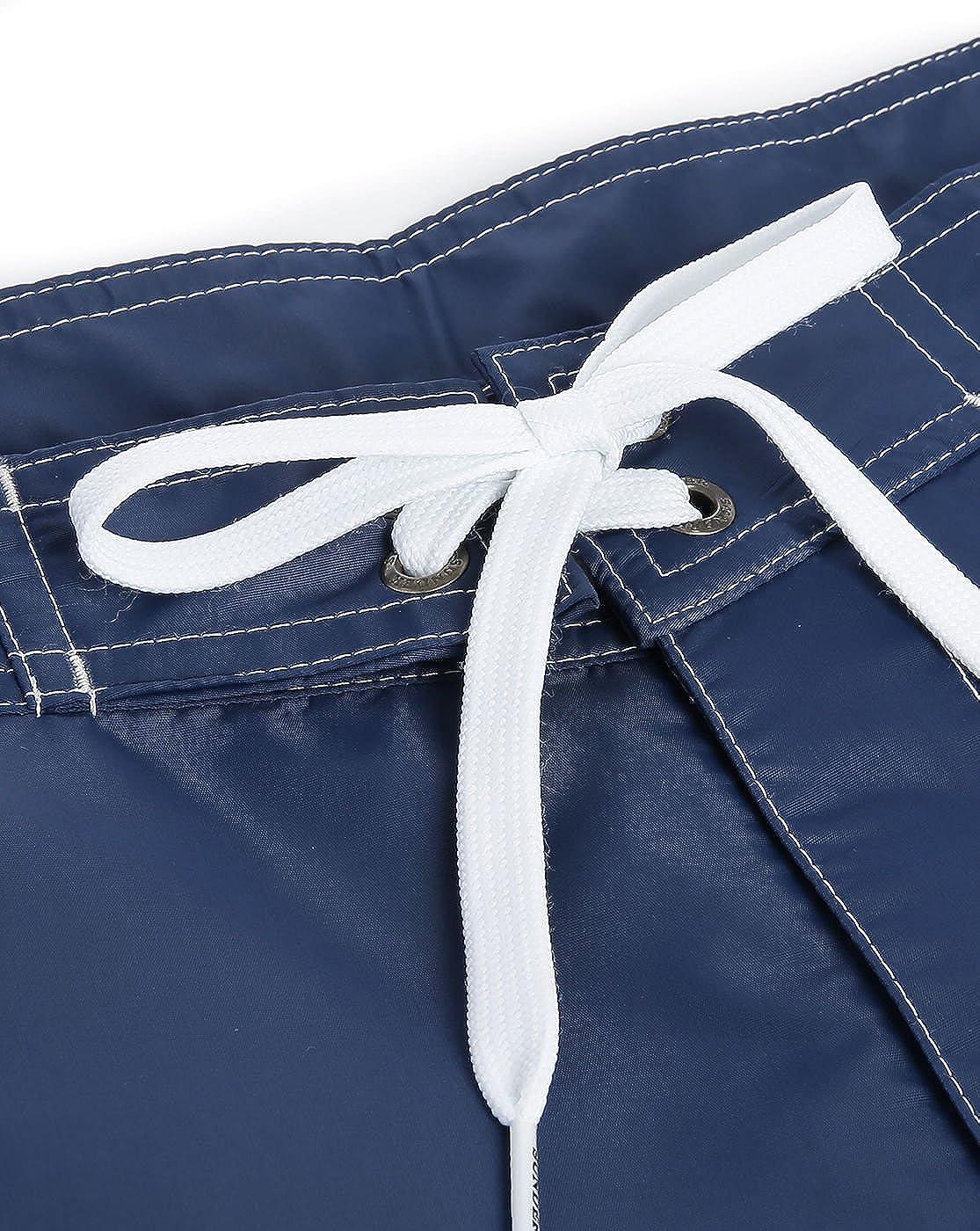 Sundek Hombres shorts de ba/ño bajo Marina De Guerra