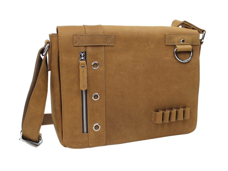 Vagabond Traveler Full Grain Leather Messenger Bag Asymmetrical L14 - Buy Vagabond  Traveler Full Grain Leather Messenger Bag Asymmetrical L14 Online at Low ... 9494990037f10