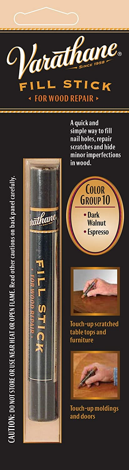 Varathane 215371 Wood Fill Stick For Dark Walnut, Espresso