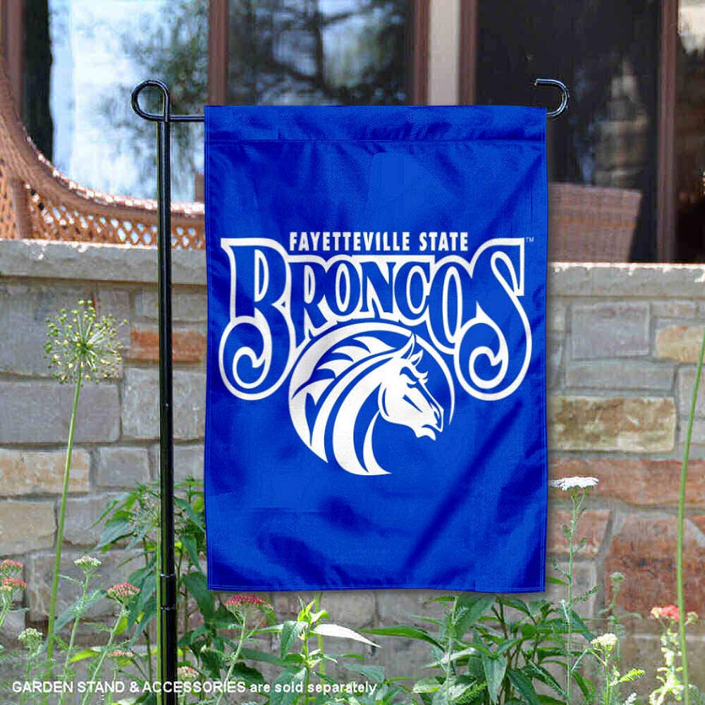 College Flags and Banners Co FSU Broncos Garden Flag