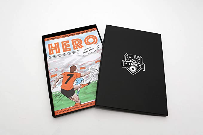 Personalised Football Books. Your name stars for your favourite team.