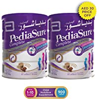 PEDIASURE COMPLETE CHOCOLATE 900 GM TWIN PACK 30 DHS OFF