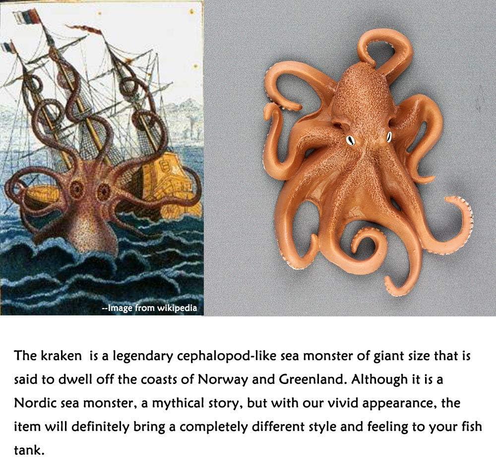 Oncpcare Decoración para Acuario de Dutch Kraken, Figura de Pulpo ...