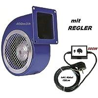 Ventilador 1200m3/h con 500W Regulador de Velocidat Ventilación