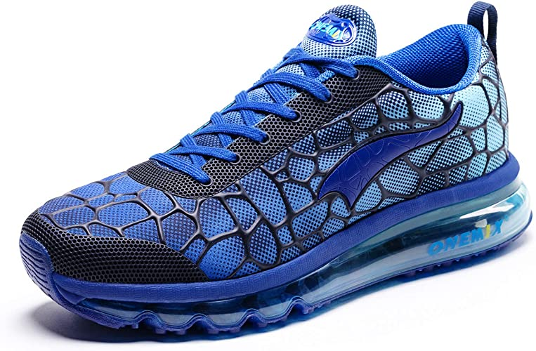 ONEMIX Zapatillas de Running de Hombre Aire Libre Deporte Deportivas Gimnasio Sneakers Transpirables Zapatos Casual: Amazon.es: Zapatos y complementos