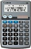 キャノン 電卓 12桁 手帳型 千万単位機能 カバー付き LS-12TUIIG グレー