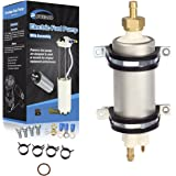 POWERCO High Pressure Gas In Line Fuel Pump Module Universal Compatible With E8228 P5000 F4239 HP4239 P90043 12V-13.5V