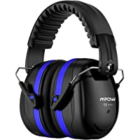 Mpow 035 Noise Reduction Safety Ear Muffs, Shooters Hearing Protection Ear Muffs, Adjustable Shooting Ear Muffs, NRR 28dB Professional Ear Defenders for Shooting Hunting Season, with a Carrying Bag
