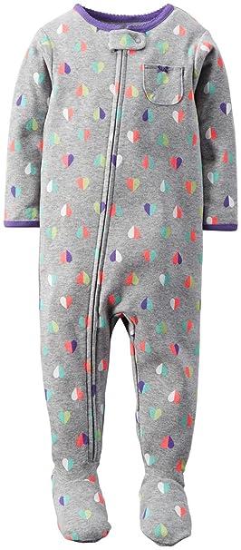 18f186d73ae6 Amazon.com  Carter s Little Girls  1-Piece Snug Fit Cotton PJs ...